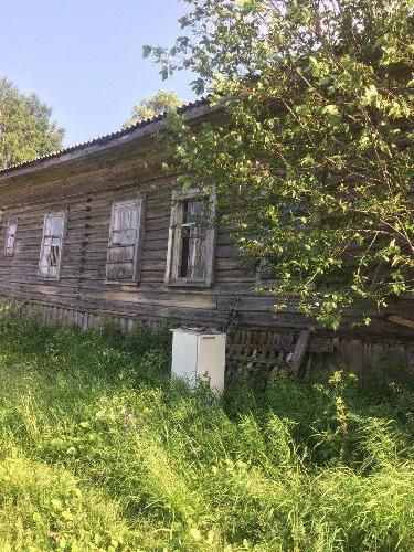 Продажа части деревянного дома, Рикасиха